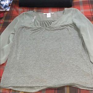 Olive Green Half-Sleeve Shirt